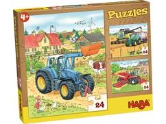 Puzzles Traktor und Co.