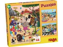 Puzzels Vrolijke dieren