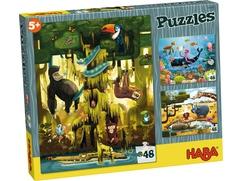 Puzzles Animales del mundo