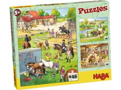 Puzzles Pferdehof