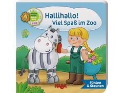 Fühlbuch – Hallihallo! Viel Spaß im Zoo