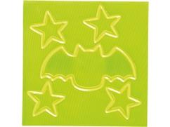 Kinder-Reflektorsticker-Set Fledermaus