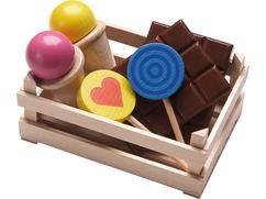 Kaufladen-Set Süßigkeiten