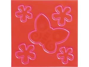 Set de adhesivos reflectantes para niños: Mariposa