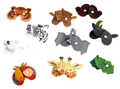 "Masks ""Wild Animals"""