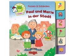 Puzzlebuch – Paul und Marie in der Stadt