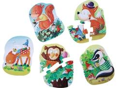 5 Primeros puzzles: La fiesta del bosque de los duendes