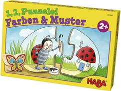 1, 2, Puzzelei – Farben & Muster