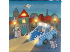 Lámpara de noche De patrulla