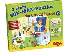 3 erste Mix-Max-Puzzles – Bei uns zu Hause