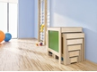Stool Staircase, multi-color