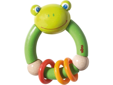 Clutching toy Croaking Frog
