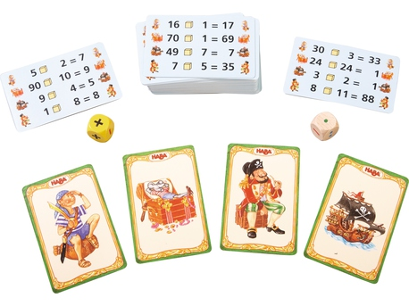Number Pirates – the card game
