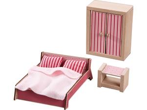 Little Friends – Puppenhaus-Möbel Schlafzimmer für Erwachsene