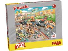 Puzzle Autorennen