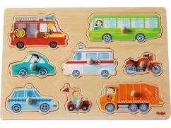 Greifpuzzle Fahrzeug-Welt