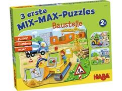 3 erste Mix-Max-Puzzles - Baustelle