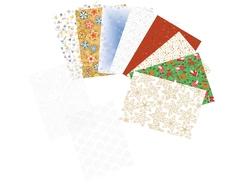 """Christmas"" Transparent Paper Set"