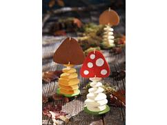 Mushroom Felt Sticks