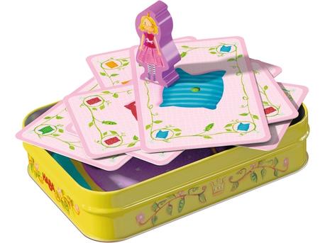 La princesse au petit pois dans son lit à bascule