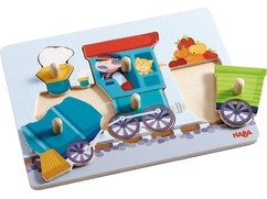 Greifpuzzle Eisenbahn