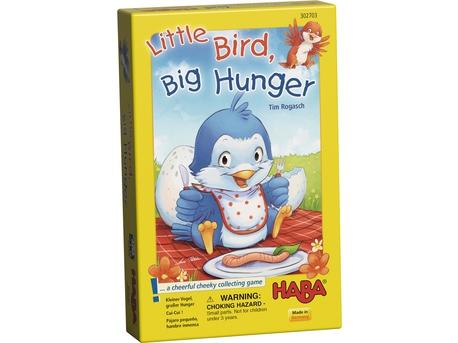 Pájaro pequeño, hambre inmensa