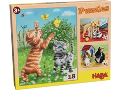 Puzzles Haustiere