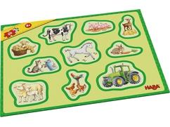Meine ersten Rahmenpuzzles – Bauernhof
