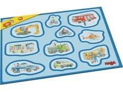 Mis primeros puzzles en marcos – Vehículos