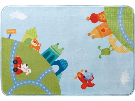 Kinderteppich haba  Teppich Stadtrundfahrt | Kinderteppiche | Kinderzimmer | HABA ...