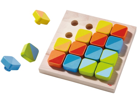 Pegging Game Color Squares