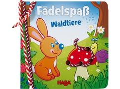Fädelbuch – Fädelspaß Waldtiere