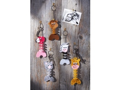 "Key Ring ""Wild Bunch"""