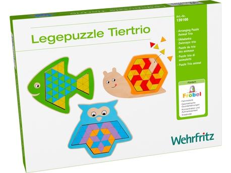 Arranging Puzzle Animal Trio