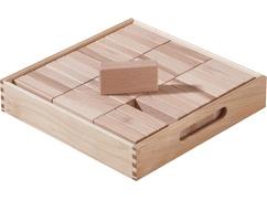 Fröbel Building Kit Half Cuboids