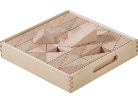 Fröbel Building Kit Prisms