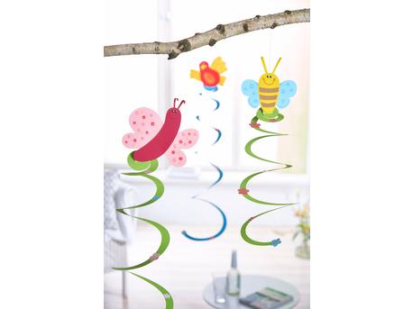 """Paper Spirals """"Spring"""""""