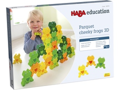 """Cheeky Frogs"" 3D"