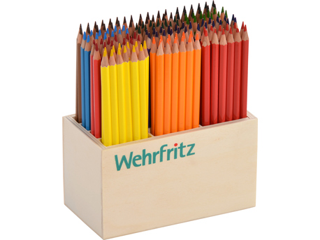 Pencil Set, 12 colors, thin