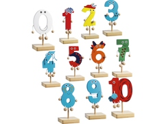 Willy's Wooden Numbers 0-10