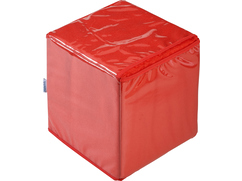 Dice, large, red, 1 item