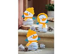 """Snowman Squad"" Felt Sticks"