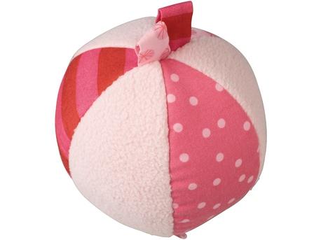 Fabric Ball Pink Fleecy Fluffy