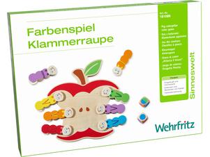 Peg Caterpillar Color Game