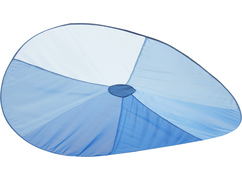 """Floating Wave"" Canopy, blue"