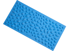 Pebble Beach Sensory Mat, blue