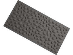 Pebble Beach Sensory Mat, gray