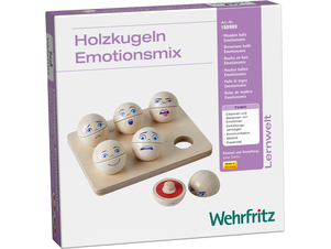 """Mixed Emotions"" Wooden Balls"