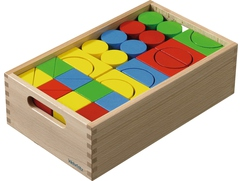Building Kit, Colorful House Blocks