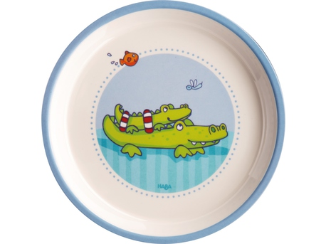 Plate Croc friends